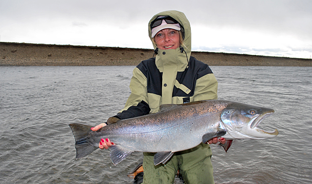 Seatrout fly fishing in Agentina