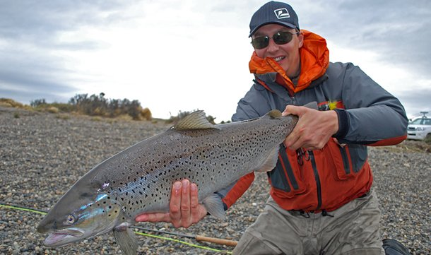 Seatrout fishing holidays in Argentina with sportquest Holidays