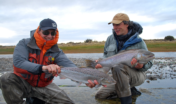 Seatrout fishing in Argentina