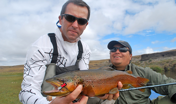 Seatrout fishing fly fishing