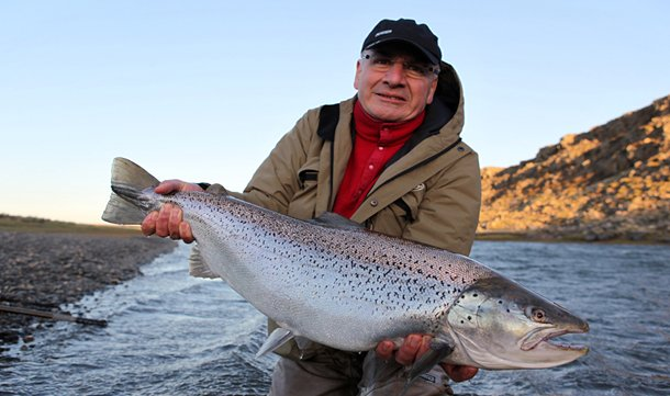 a big sea trout from argentina