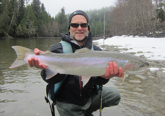 The First Report Of The Season From Kalum River Lodge