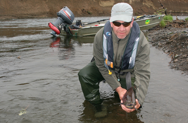 Salmon Fly Fishing Holidays in Alaska with Sportquest Holidays