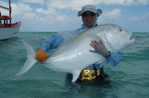 Christmas Island fly fishing holidays with Sportquest Holidays