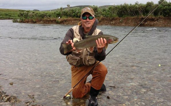 more rainbow trout fly fishing in alaska