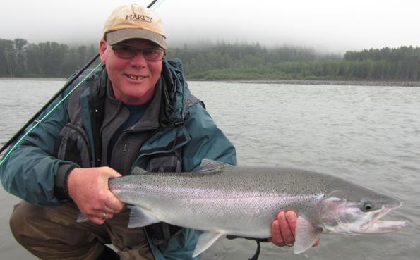 Fly fishing holidays for Steelhead British Columbia