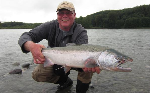 Salmon fly fishing holidays Canada