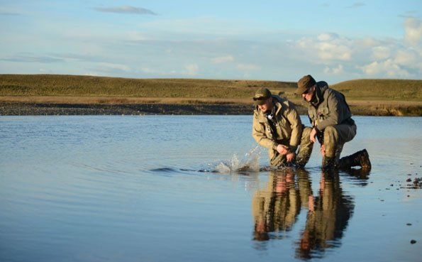 Kau Tapen Lodge The Worlds Best Fishing Holiday The Best Sea Trout Destination