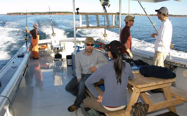New Bluefin Tuna Destination Report of the boat we use