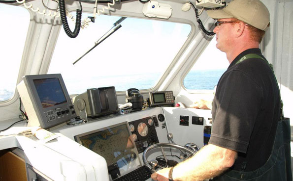 The boat has all the fish finders New Bluefin Tuna Destination Report