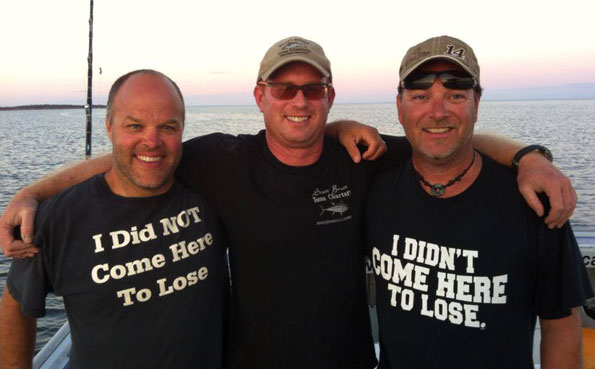 Three very happy anglers New Bluefin Tuna Destination Report