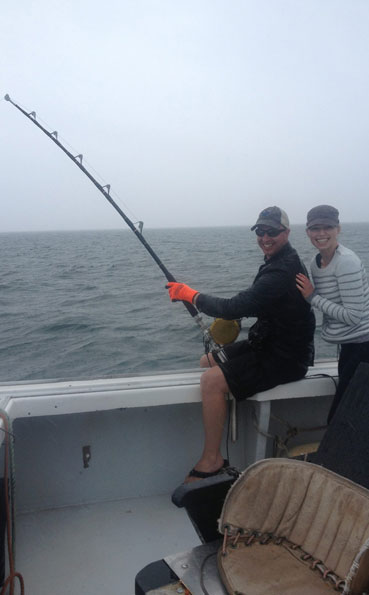 New Bluefin Tuna Destination Report of a couple fishing together