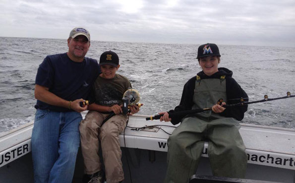 Kids can catch them to New Bluefin Tuna Destination Report