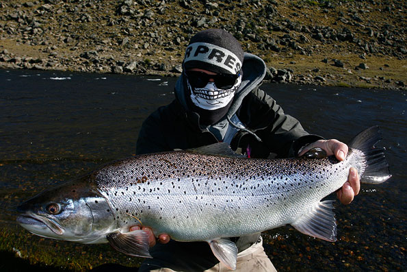 The best sea trout fly fishing holidays in Argentina
