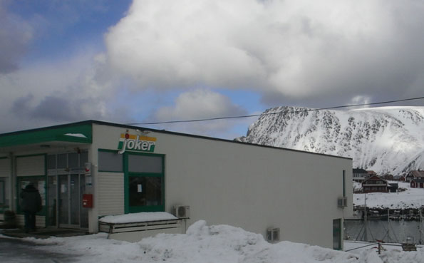 The only supermarket on the Island Norway Fishing Report