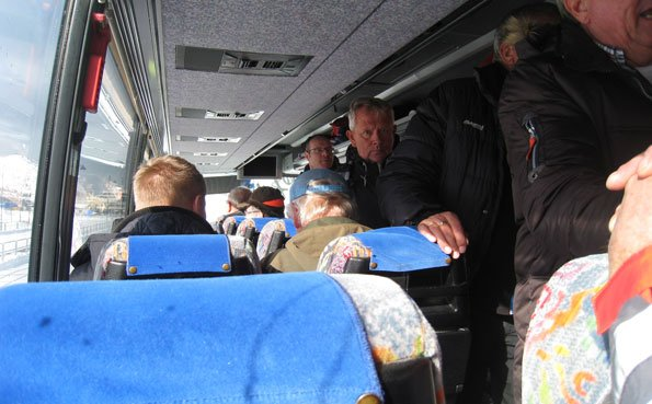 Coach journey to Soroya Norway Fishing Report