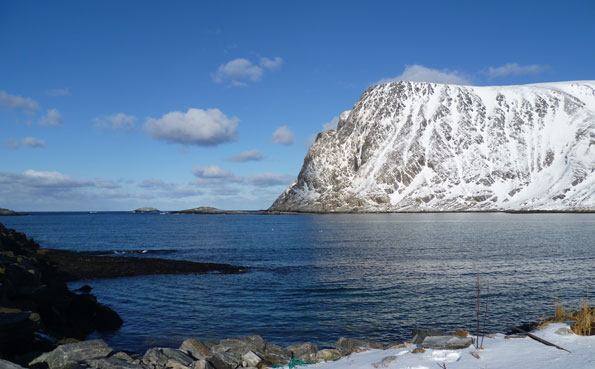 View to the barents sea Norway Fishing Report