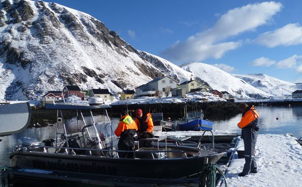 A stunning picture of the boat yard in Norway Fishing Report