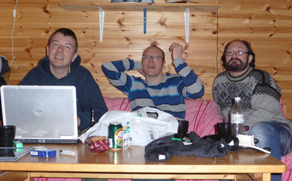 The fishermen in the cabins Norway Fishing Report