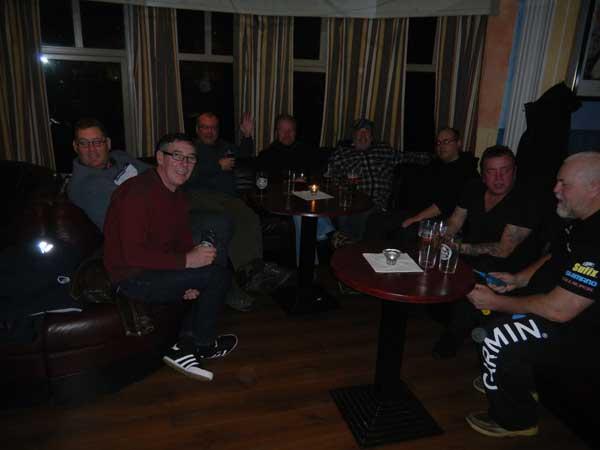 Last drinks at the bar in Soroya Norway Fishing Report