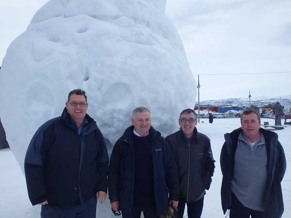A huge snowball Norway Fishing Report