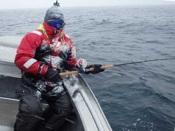 The snow has settled on this fisherman Norway Fishing Report