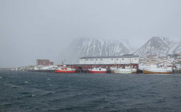 Norway Fishing Report of the fishing harbour at Soroya