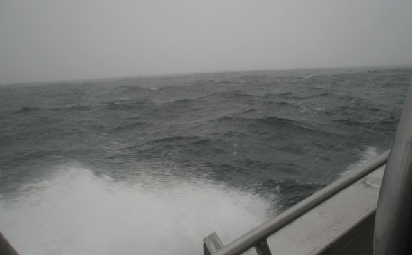 The wind made driving the boats bad Norway Fishing Report Soroya