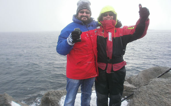 Hoping for some huge Cod from Soroya Norway Fishing Report