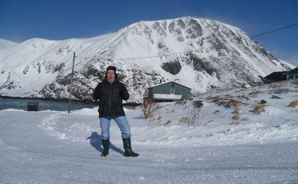 Lots of snow at Soroya Norway Fishing Report