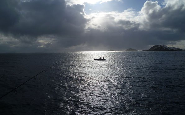 Sunsets in Soroya Norway Fishing Report