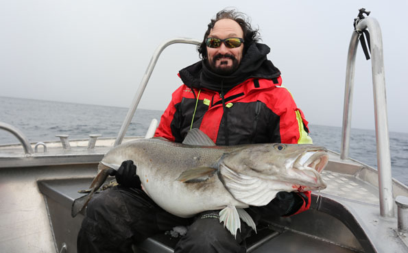 Fishing Report Norway of stan with his biggest cod