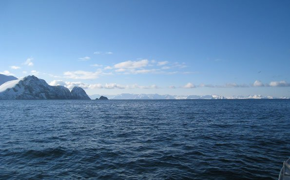 It is so clear out there you can see for miles Fishing Report Norway