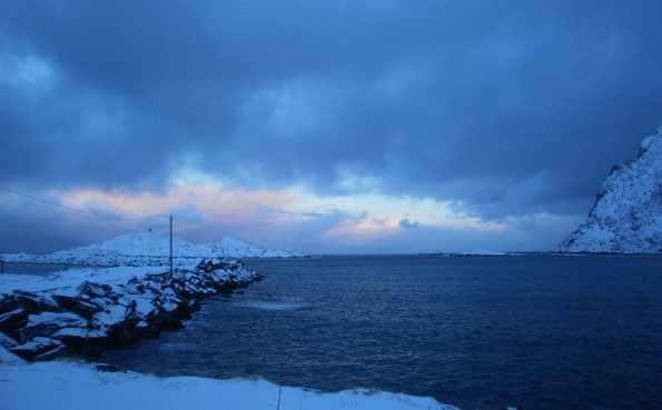 The weather is closing in Fishing Report Norway Soroya