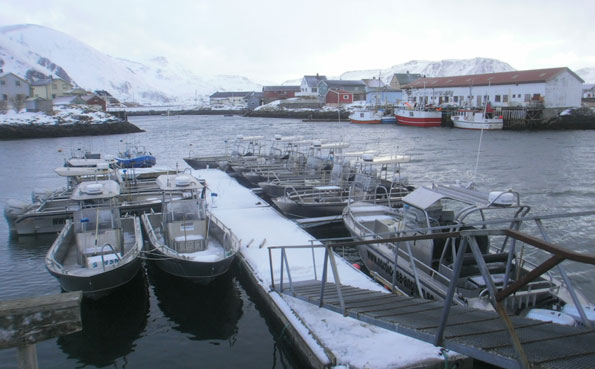The boats we use at Soroya Norway fishing report