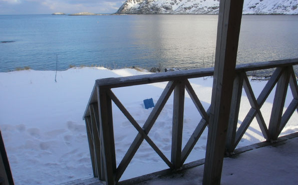 View across barents sea Norway fishing report