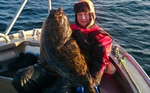 Fishing Report Norway of some great looking Halibut