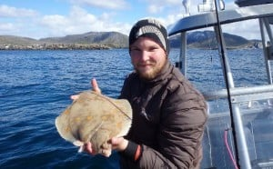 Fine plaice Fishing report Norway Lofoten