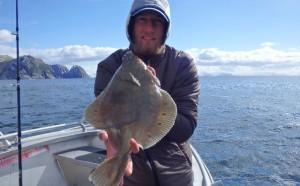 Thats one big Plaice Fishing report Norway