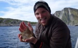 Norway smallest Halibut Fishing report Norway