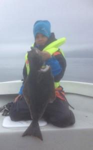 Fishing Report Norway of children fishing Norway