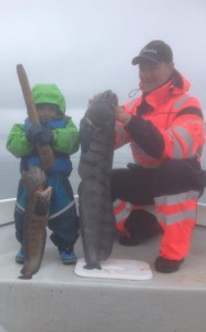 Father and son Fishing Report Norway