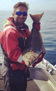 Husband catches his own halibut for dinner Fishing report Norway