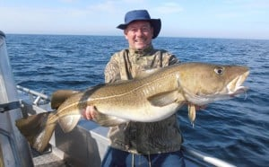 A 50LB Cod from Norway fishing report