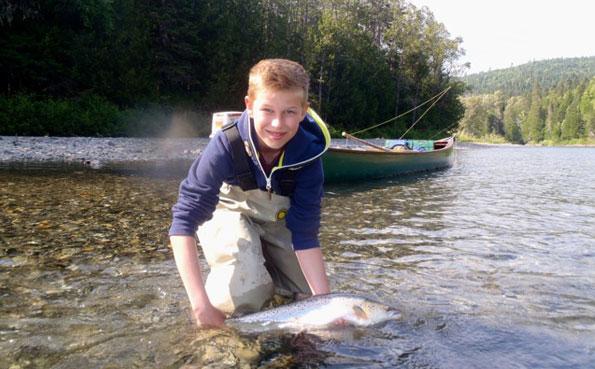 Atlantic Salmon Fishing Camp Bonaventure Canada