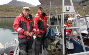 The group of English Norway fishing report