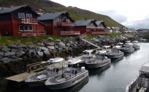 A wonderful view of Havoysund Norway fishing report