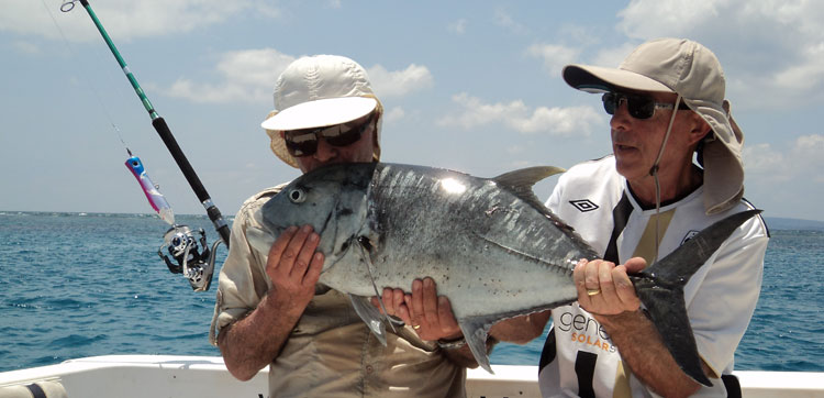 Popper fishing report Andaman Islands