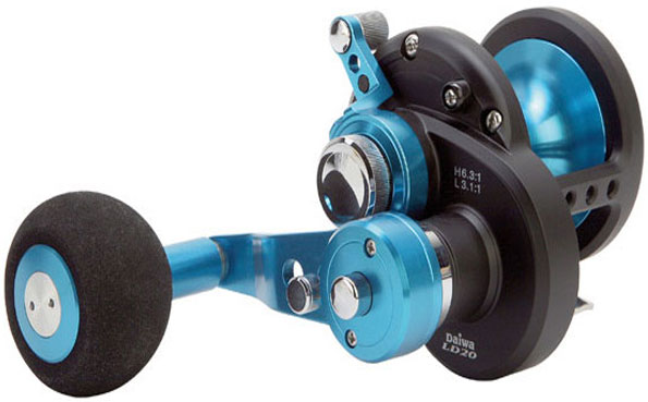 Diana boat fishing reel featured in our Norway fishing report