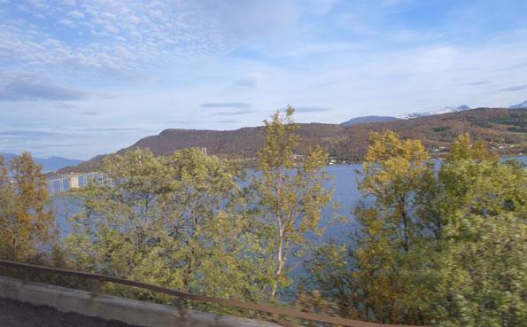 Beautiful scenery in Fishing Report Norway